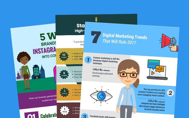 15 Marketing-Infografik-Vorlagen und Tipps zur Steigerung der Kundenbindung