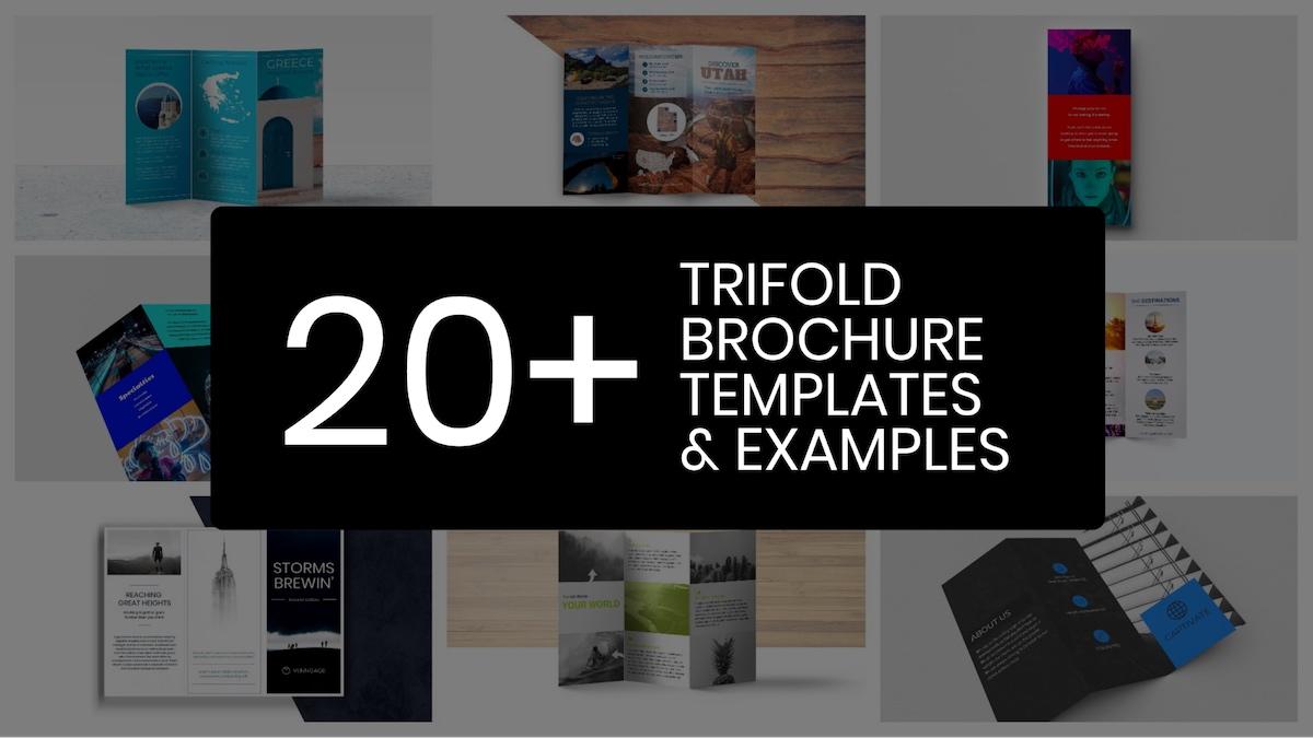 20+ professionelle dreiseitige Broschüre-Vorlagen, Tipps und Beispiele