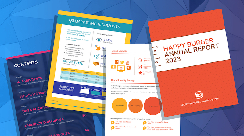 30+ Geschäftsbericht-Vorlagen, die jedes Unternehmen braucht [+ Entwurfstipps]
