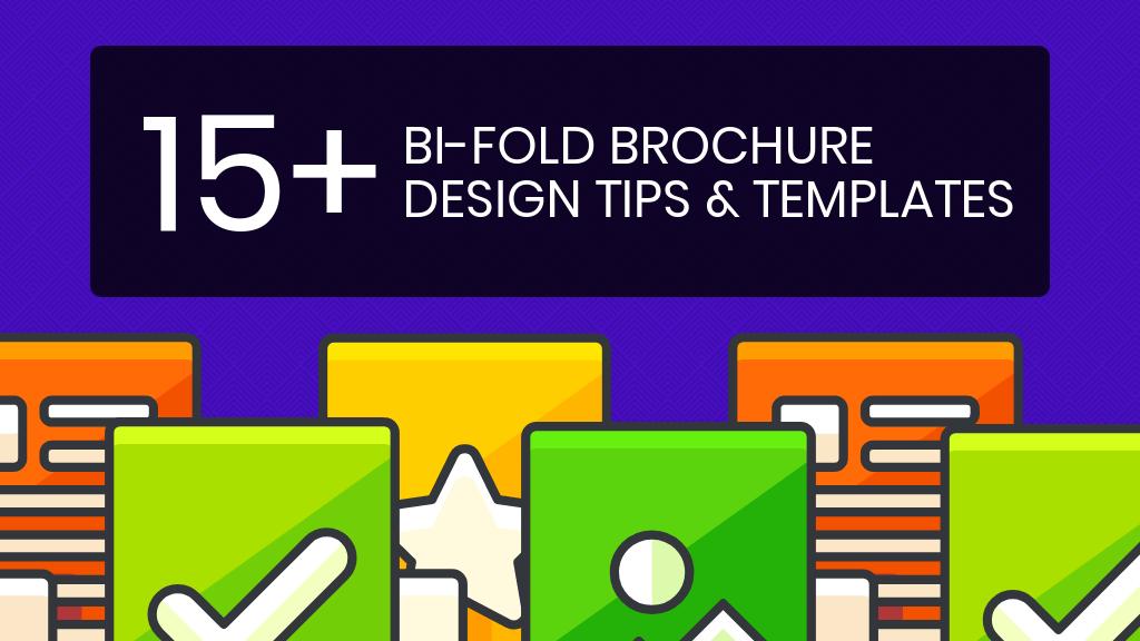 Über 15 zweifach-faltbare Broschürenvorlagen und Design-Tipps, um Ihr Marketing auf Hochtouren zu bringen